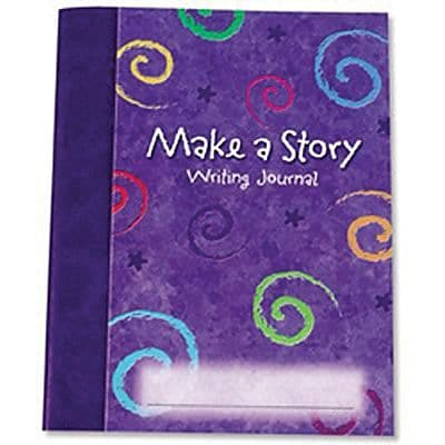 Learning Resources® Make a Story Hardcover Journals, 9 x 7, 10/Set (LER3469)