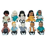 Multi-Ethnic School Doll, Set of all 10 dolls