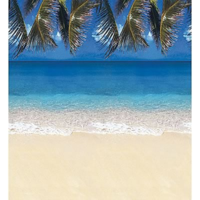 Pacon® Fadeless® Designs Paper, Tropical Beach,  48 x 50 Film Wrapped & Boxed