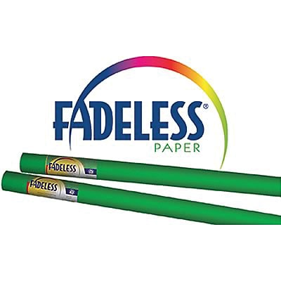 Fadeless® Art Paper Rolls, 48x12, Apple Green