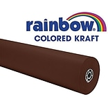 Colored Kraft Paper Roll Brown, 36x100