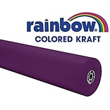 Pacon® Rainbow® 100 x 36 Colored Kraft Paper Roll, Purple (PAC66331)