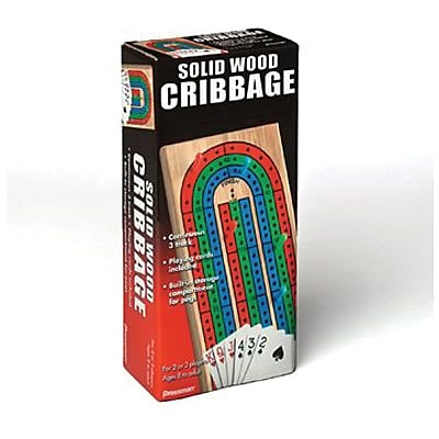 Folding Cribbage w/Cards in Box Sleeve