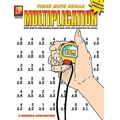 Timed Math Drills: Multiplication