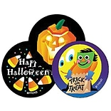 Trend Halloween - Licorice Stinky Stickers Large Round, 60 ct. (T-930)