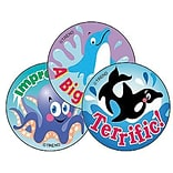 Trend Sea Animals/Blueberry Stinky Stickers, 60 ct. (T-6416)