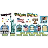 Patriotic Symbols Bulletin Board Set, 44 pieces