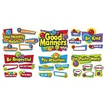 Bulletin Board Set - Good Manners