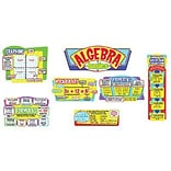 Algebra Basics Bulletin Board Set, 7 pcs