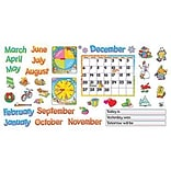 English Monthly Calendar BB Set