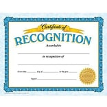 Trend Certificate of Recognition Classic Certificates, 30 CT (T-11304)