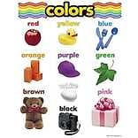 Colors Learning Chart