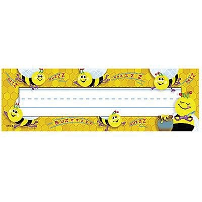 Busy Bees Desk Toppers® Name Plates