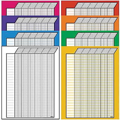 Incentive Charts - 22x28, Vertical Variety Pack