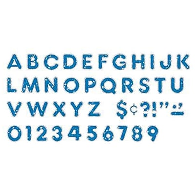 Casual Uppercase Ready Letters