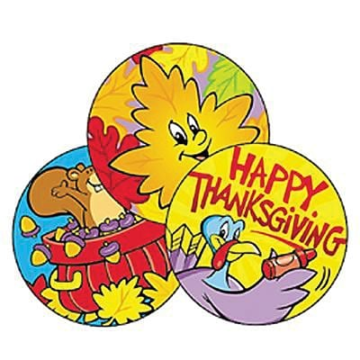 Trend® Stinky Stickers®, Thanksgiving Time, 60/Pack Scented