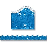 Super Sparkle Blue Border