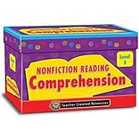 Nonfiction Reading Comp. Cards, Level 3