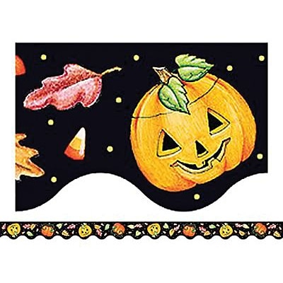 ME Halloween Border Trim