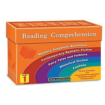 Fiction Reading Comprehension Cards, Grade 1