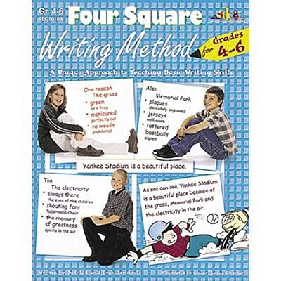 Four Square Writing Method Series, Grades 4-6