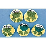 5-Character Mitt Set, 5 Speckled Frogs