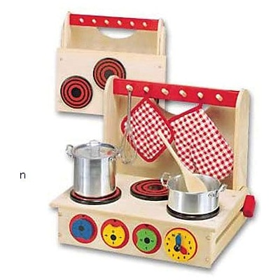 Wooden Cook Top, Ages 3 & Up