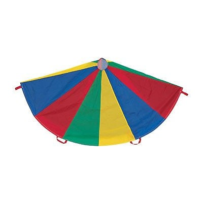 Champion Sports 6 Multicolor Parachute With 8 Handles