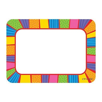 Creative Teaching Press™ Name Tags, Playful Patterns