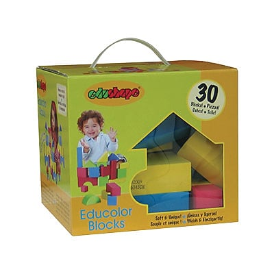 edushape® Educolor Blocks, 30/Box