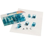 See & Stamp Uppercase Letters Teacher Stamps