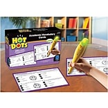Educational Insights Hot Dots Academic Vocabulary Card Sets, Grades 4-6