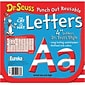 Eureka® Dr. Seuss™ 4 Reusable Letters Cut-Outs, Red and White