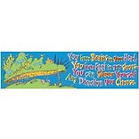 Eureka® Dr. Seuss™ pre-school - 6th Grades Colorful Classroom Banner, Oh The Places Youll Go