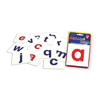 Hygloss Flash Cards, Alphabet Cards A-Z Lower Case Letters