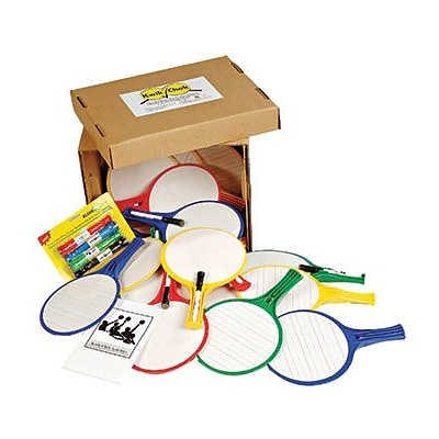 Kwik Chek II Classroom Kit, Set of 12 Paddles