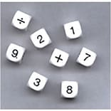 Koplow Games Whole Number Dice