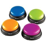 Learning Resources Answer Buzzers, Set of 4 (LER3774)