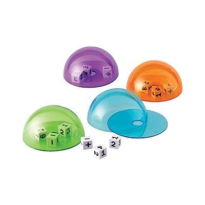 Learning Resources® Dice Domes, Set of 4
