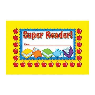 Incentive Punch Cards, Super Reader
