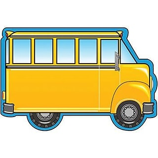 Shapes Etc Large School Bus Notepads