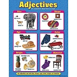 Trend® Learning Charts; Adjectives
