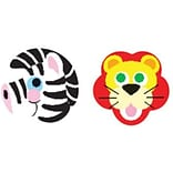 Trend Zoo Animals superShapes Stickers, 800 CT (T-46058)