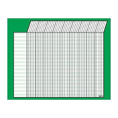 Trend Green Horizontal Incentive Chart, 22 x28 (T-73213)