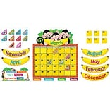 Monkey Mischief™ Calendar Bulletin Board Set