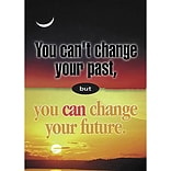 Classroom Poster; You cant change the past
