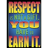 Respect Is Not A Gift Poster