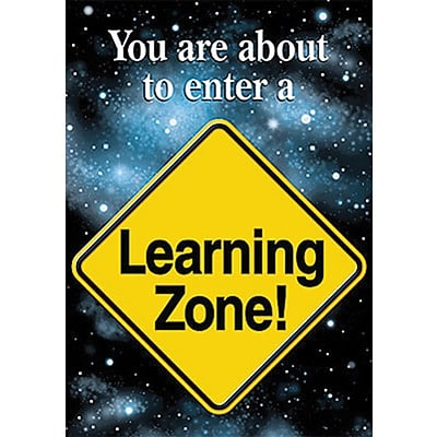 Trend® Educational Classroom Posters, You are about to enter a learning zone