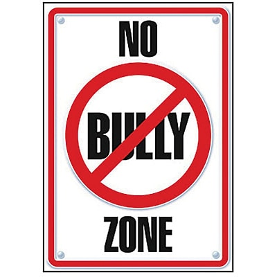 Trend® Educational Classroom Posters, No Bully Zone