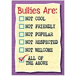 Classroom Poster; Bullies Are: Not Cool